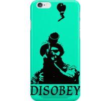 Disobey at War iPhone Case/Skin