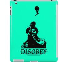 Disobey at War iPad Case/Skin