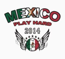 World Cup 2014:Team Mexico Play Hard by seazerka