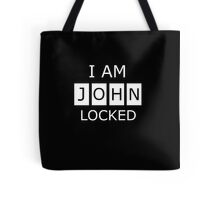 Johnlocked Tote Bag