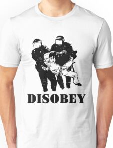 Disobey Police Unisex T-Shirt