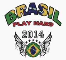 Brazil 2014 World Cup: Team Brazil by seazerka