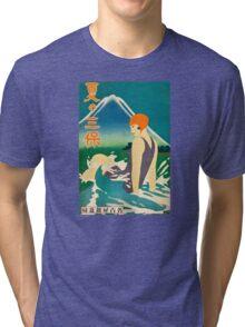Woman at the Sea Tri-blend T-Shirt