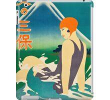 Woman at the Sea iPad Case/Skin