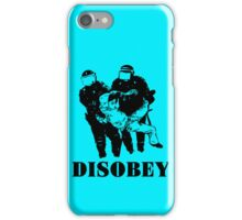 Disobey Police iPhone Case/Skin