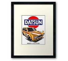 510 Wagon Framed Print