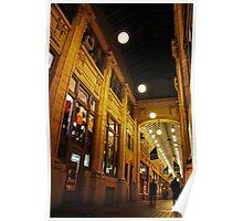 Nickels Arcade in Ann Arbor, Mi Poster