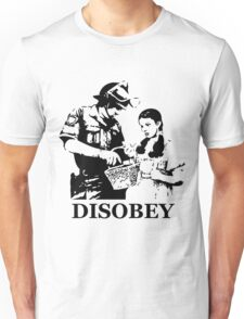 Disobey Search Unisex T-Shirt