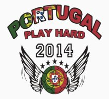 World Cup 2014:Team  Portucal Play Hard by seazerka