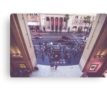 Hollywood Blvd Jimmy Kimmel Live  Canvas Print