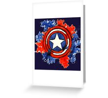 The Shield that Saved the World Greeting Card