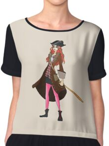 Amy Pond, The Pirate Chiffon Top