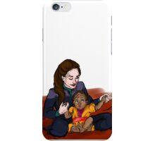 Jadzia and Worf's baby iPhone Case/Skin