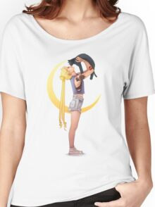 Bunny with cat Women's Relaxed Fit T-Shirt