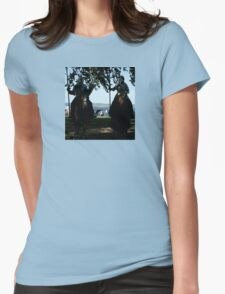 Past Meets Present Womens Fitted T-Shirt