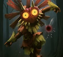 Majoras Mask / Skull kid phone case by iPinkly