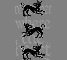 Clegane Sigil & Quote - Grey  by ReekieW