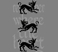 Clegane Sigil & Quote - Grey  by ReekieW