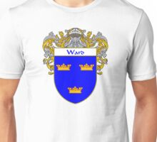 Ward Coat of Arms / Ward Family Crest Unisex T-Shirt