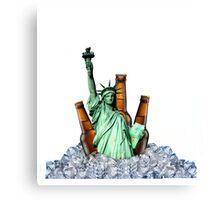 Liberty Drinks Canvas Print