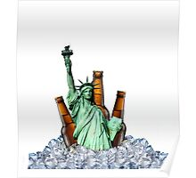 Liberty Drinks Poster