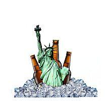 Liberty Drinks Photographic Print