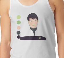 Ezri Dax with a limited palette Tank Top