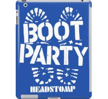 Party Boot iPad Case/Skin