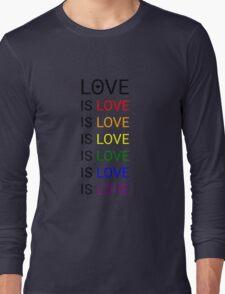 love is love is love Long Sleeve T-Shirt