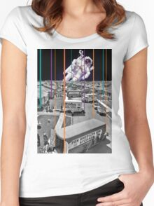 Amrican Dream Women's Fitted Scoop T-Shirt