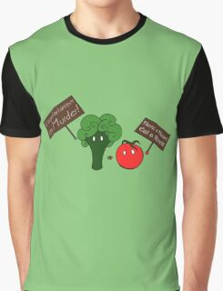 Vegetarianism is Murder Graphic T-Shirt