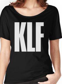 KLF TEXT TEE Women's Relaxed Fit T-Shirt