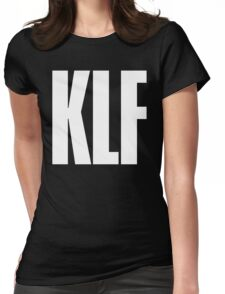 KLF TEXT TEE Womens Fitted T-Shirt