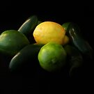 Green and Yellow by Barbara Morrison