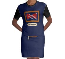 In case of Doctor, break Glass Graphic T-Shirt Dress