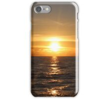 Indian Ocean sunset iPhone Case/Skin