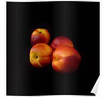 Sweet Summer Nectarines  Poster