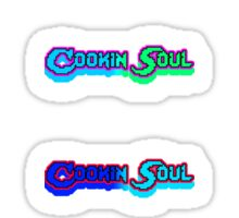 Cookin Soul Pixels Big Size & Zock Sticker