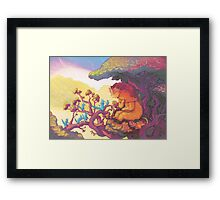 Plea to the Sun Guardian Framed Print