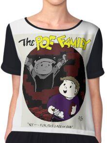The Poe Family Chiffon Top