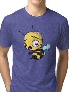 Bee zombie Tri-blend T-Shirt