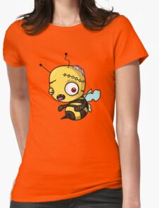 Bee zombie Womens Fitted T-Shirt