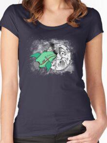 Voyage dans la lune Women's Fitted Scoop T-Shirt