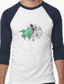 Voyage dans la lune Men's Baseball ¾ T-Shirt