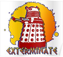 Doctor Who: Exterminate Dalek Art Poster