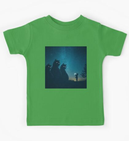 The Gift (blue) Kids Tee