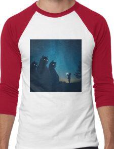 The Gift (blue) Men's Baseball ¾ T-Shirt