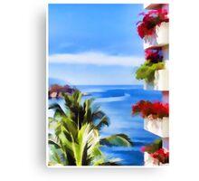 Vallarta View Canvas Print