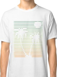 Distressed Beach Palms  Classic T-Shirt