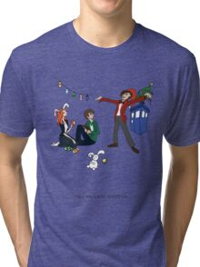 The Doctor is Late Tri-blend T-Shirt